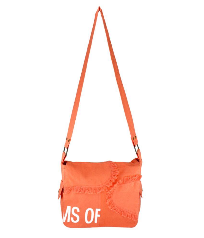 YOLO Canvas Cloth Sling Bag