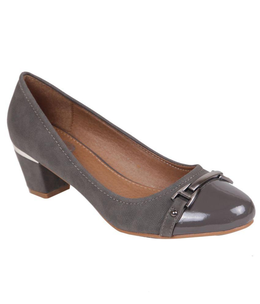 ilo gray block pumps buy s formal shoes