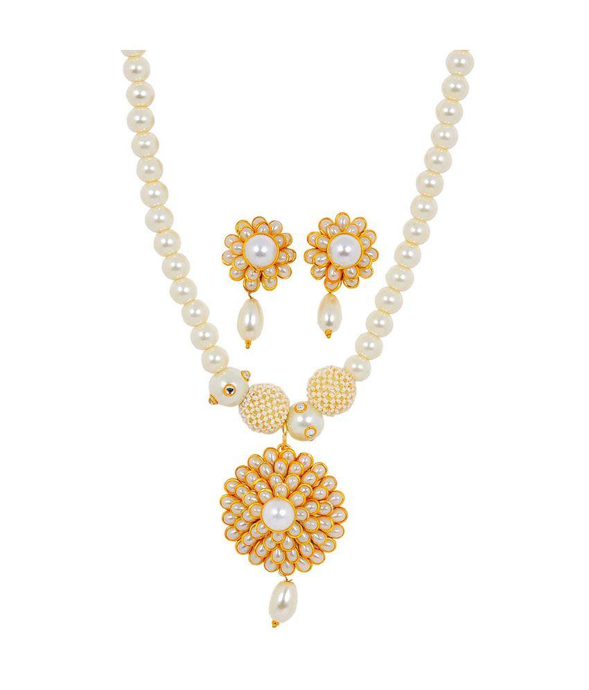Maayra Dazzling Antique Necklace Set