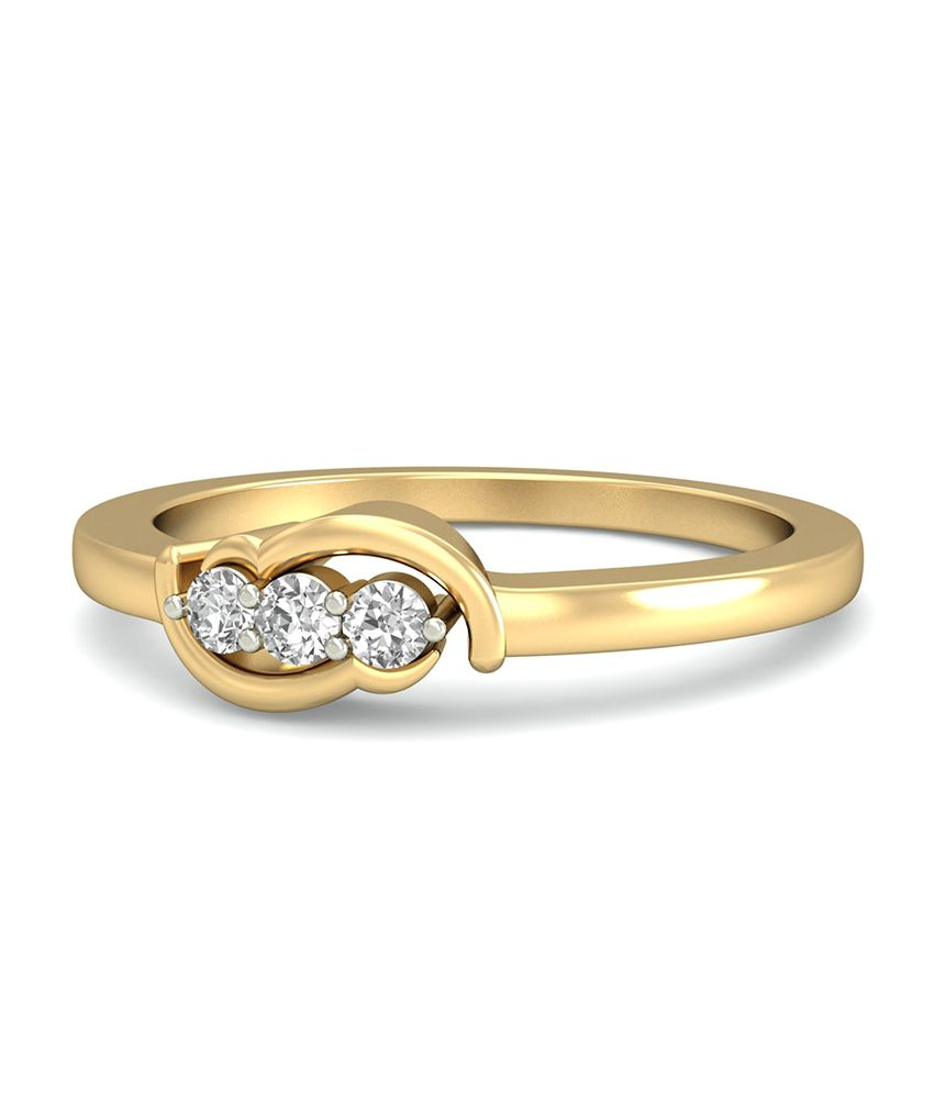 The Ophelia Diamond Ring WearYourShine by PC Jeweller