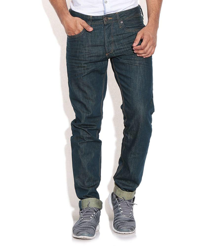 Jack & Jones Blue Regular Jeans