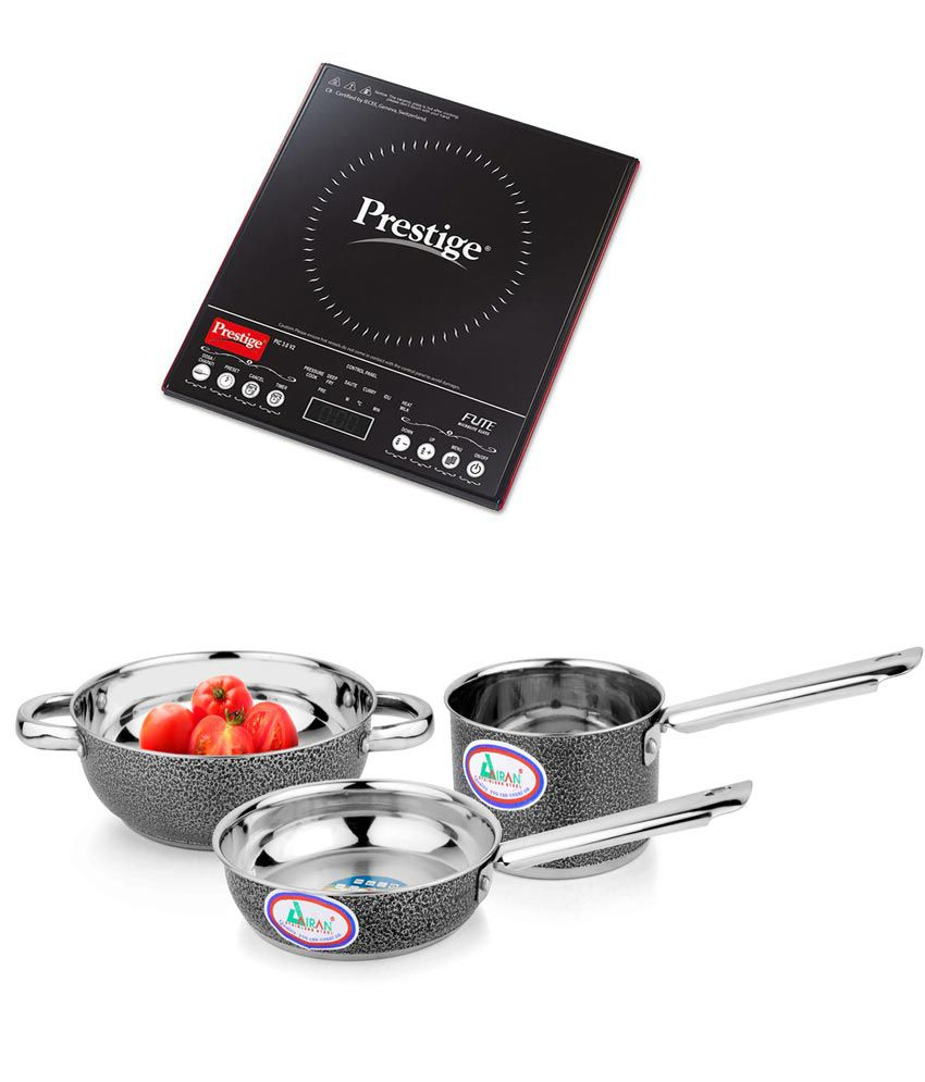 Prestige PIC 3.0 v2 Induction Cooker and Induction Base Color ...