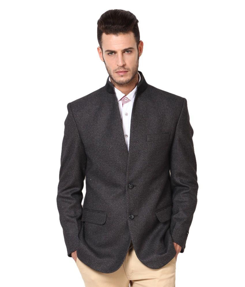 77873ae8800 Black Semi-formal Blazer - Buy Black Semi-formal Blazer Online at Best  Prices in India on Snapdeal