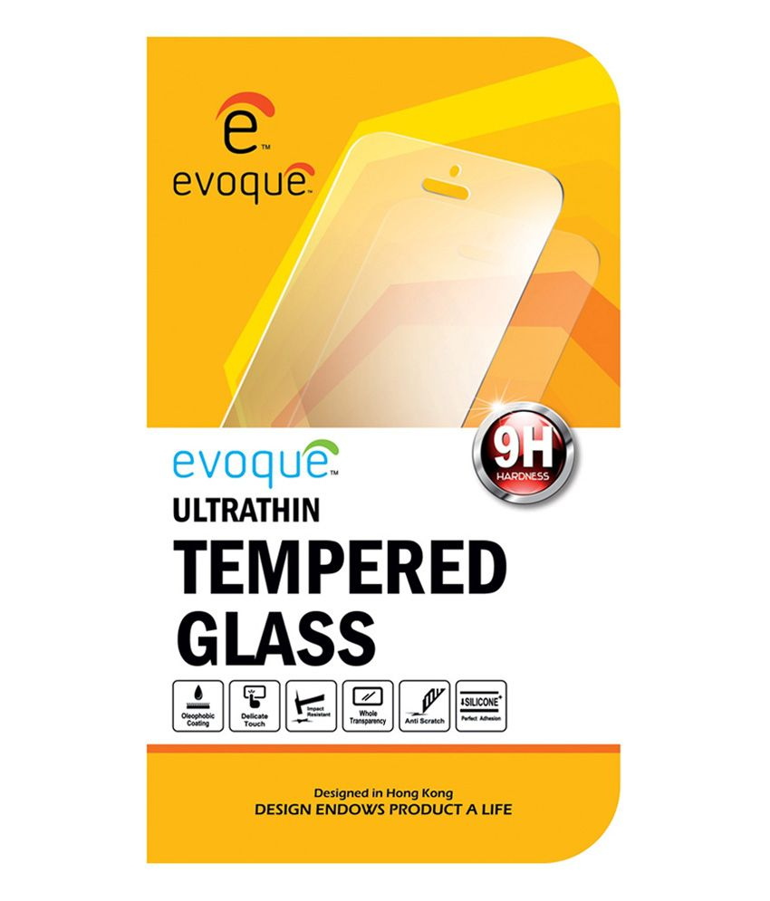 Evoque Tempered Glass Screen Guard for Sony Xperia T2 Ultra