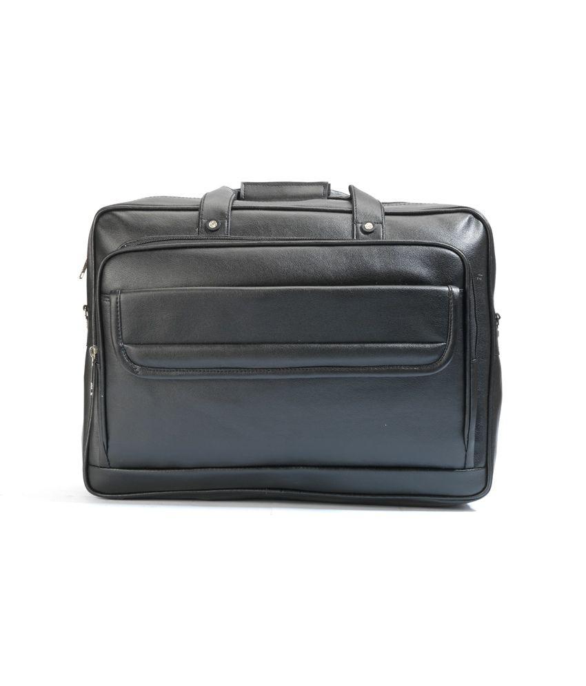 Just Bags Black Office Bag