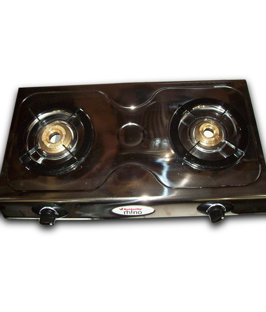 Butterfly Rhino LPG Gas Cooktop (2 Burner)