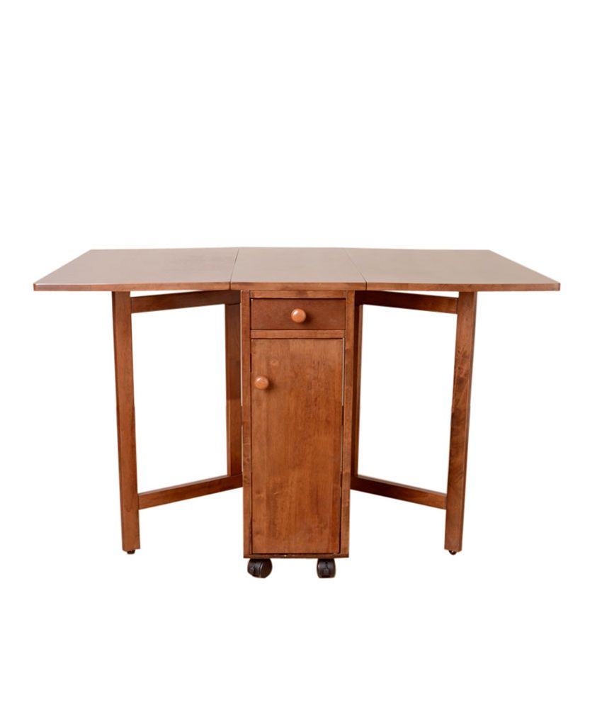 Folding Dining Table Online India Compact Folding Four Seater