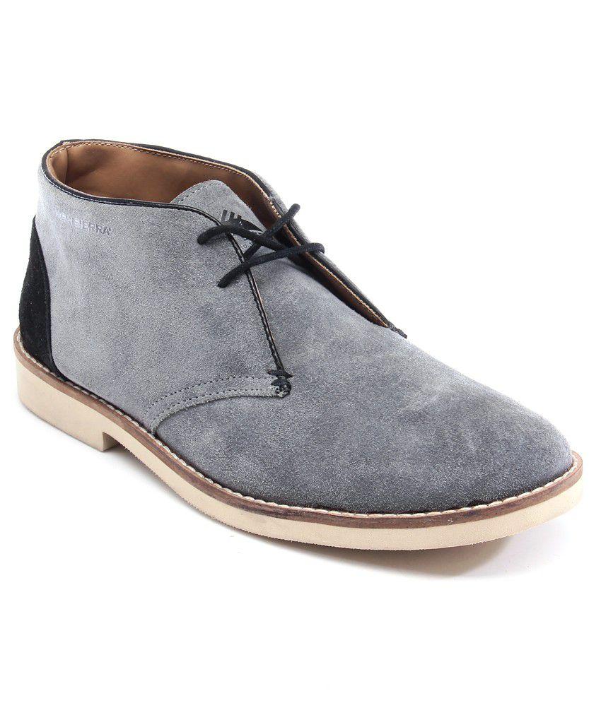 High Sierra Gray Boots