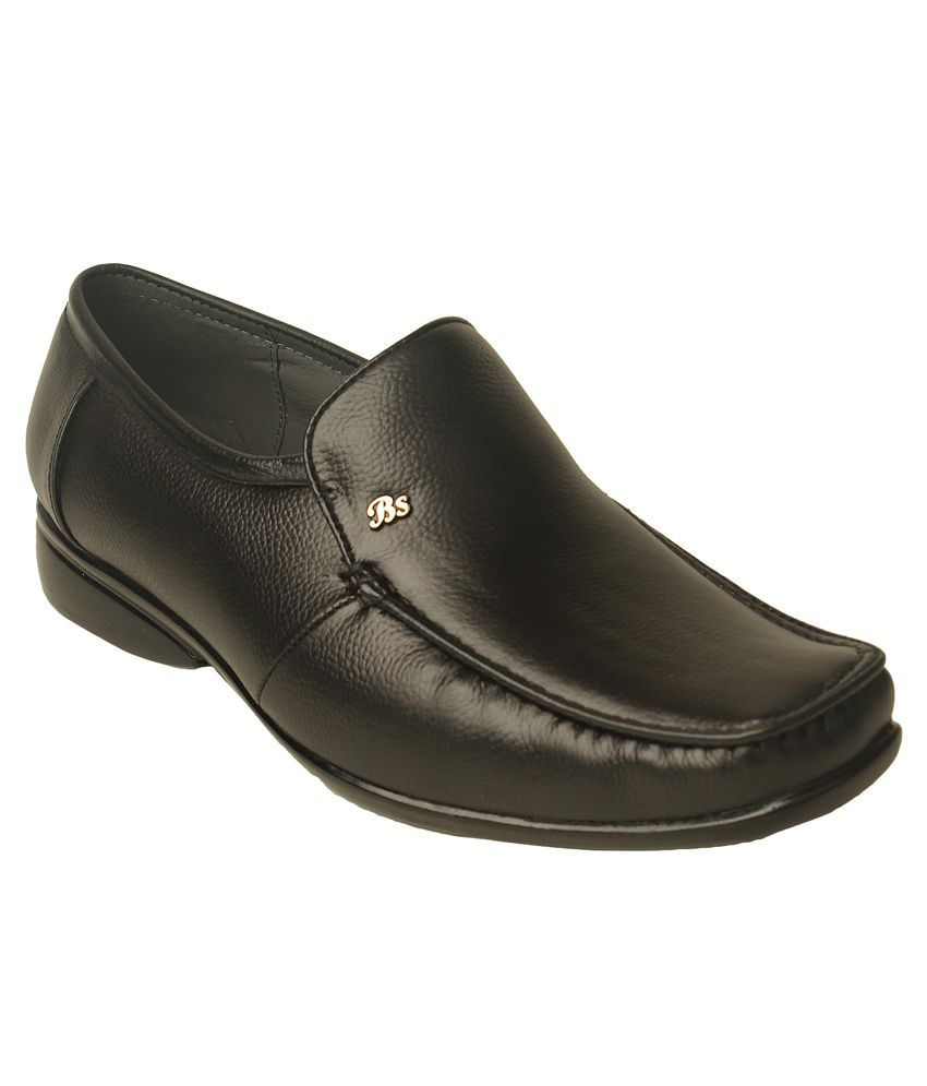 Le Costa Black Faux Leather Slip-on Partywear Boots
