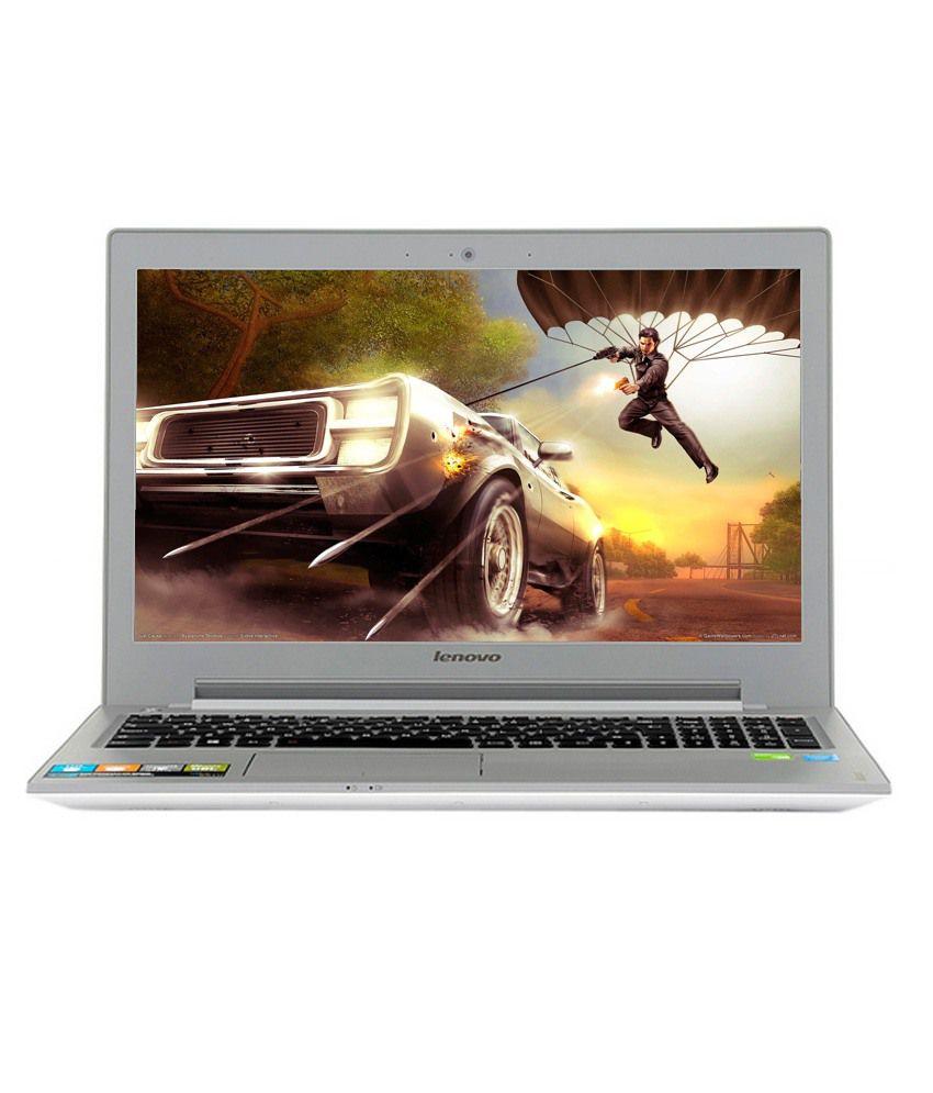 Lenovo IdeaPad Z50-70 (59-429623) Laptop (4th Gen Intel Core i5- 4GB RAM- 1TB HDD- 39.62cm (15.6)- DOS- 2GB Graphics) (Silver)