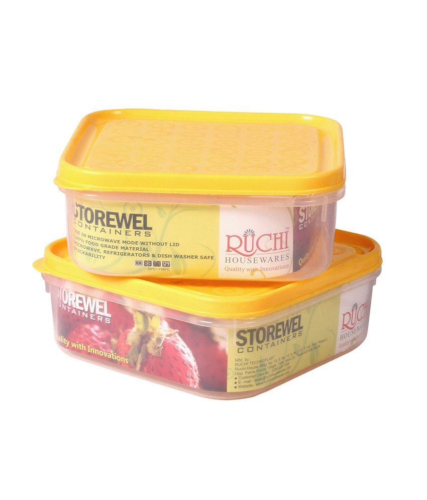 Housewares Store: Ruchi Housewares Storewel 120 (set Of 2): Buy Online At