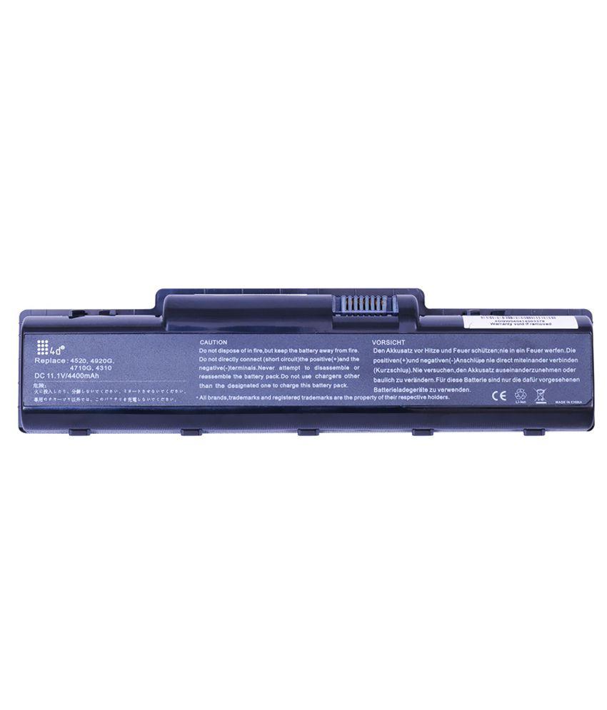 4d Acer Aspire 5541g 6 Cell Laptop Battery