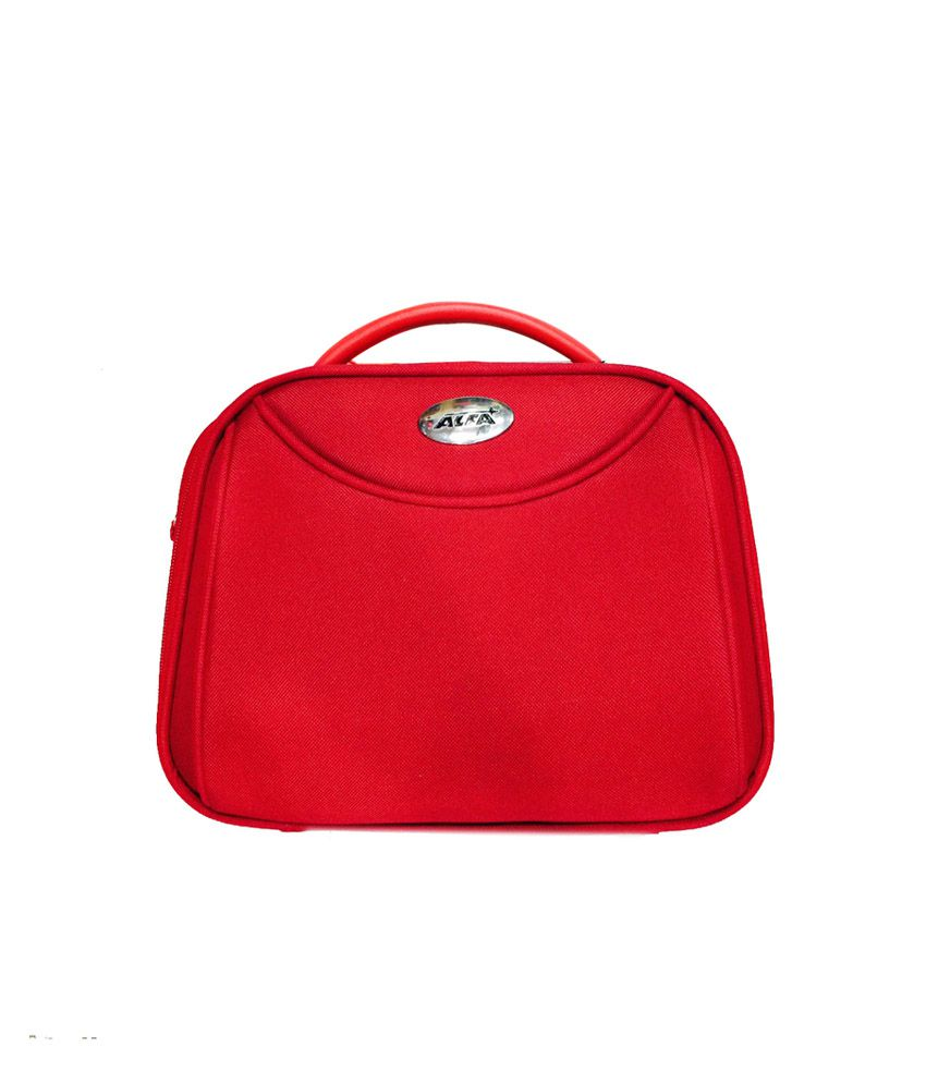 Buy Alfa Red Diana Vanity Case At Best Prices In India Snapdeal