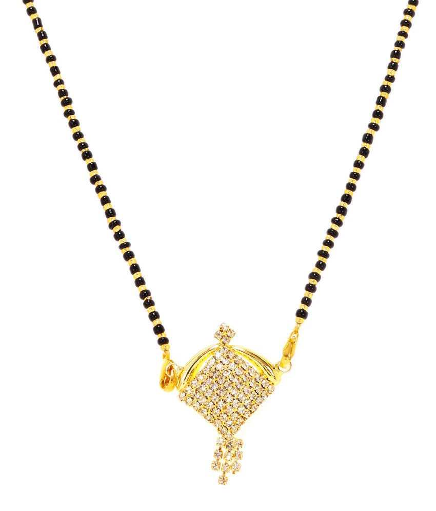 Elegant Pretty Look Rich Auspicious Mangalsutra by GoldNera