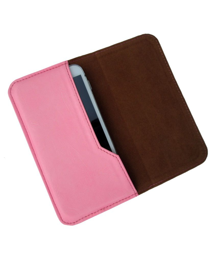 Ikitpit Pu Leather Pouch Cover For Karbonn A9+