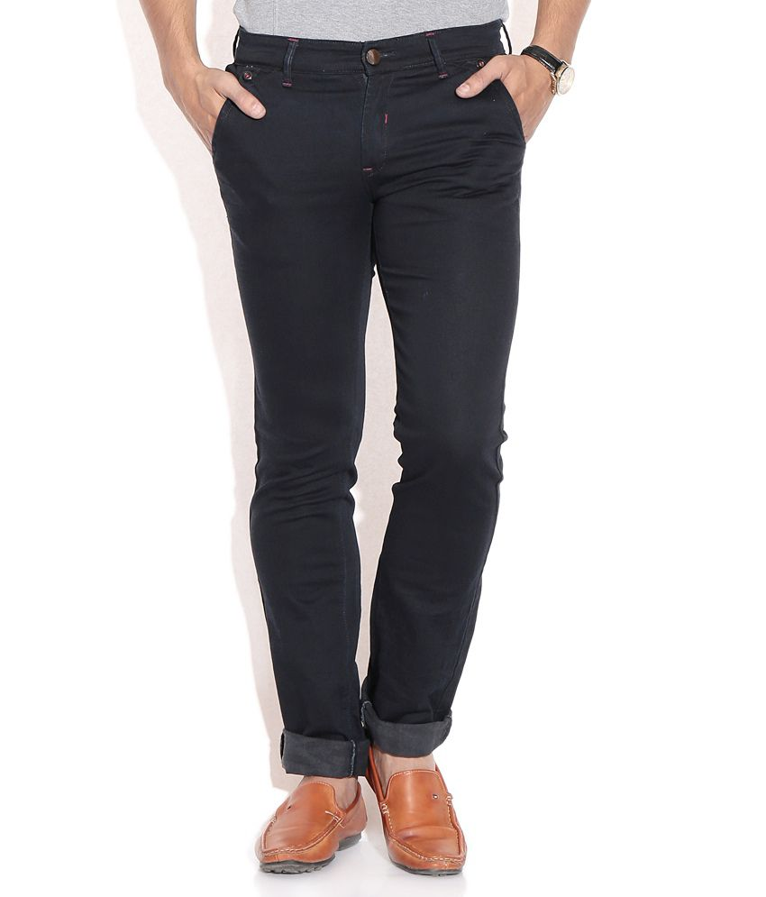 Urban Navy Blue Slim Jeans