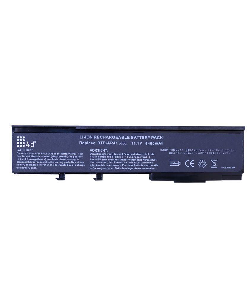 4d Acer Aspire 3282wxci 6 Cell Laptop Battery