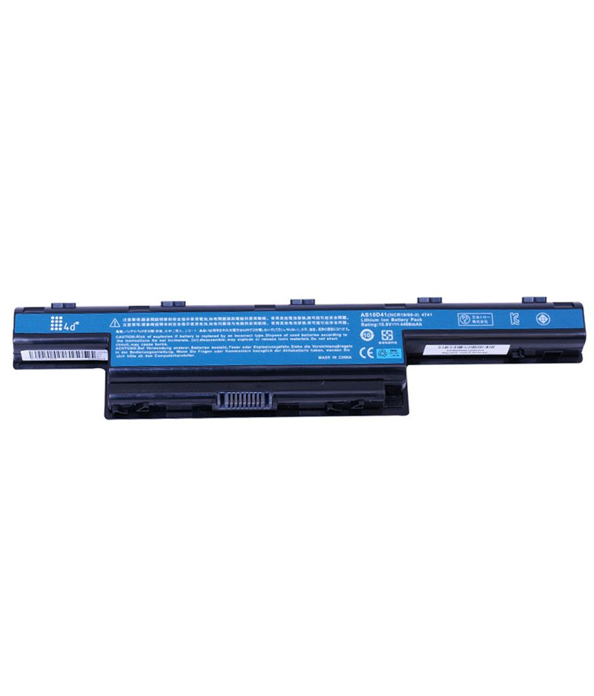 4d Acer Aspire Bt00603111 6 Cell Laptop Battery