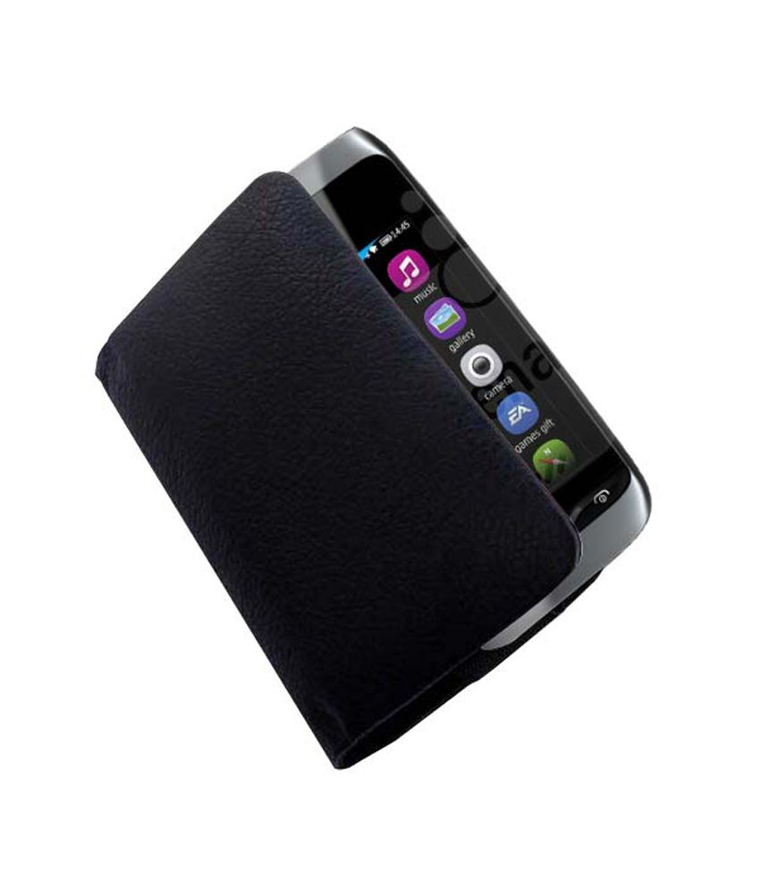 ACM Rich Leather Soft Carry Case For Nokia Asha 309 Mobile ...
