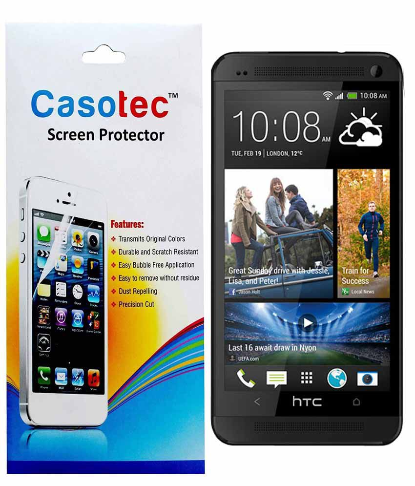 Htc One M7 Clear Screen Guard by Casotec