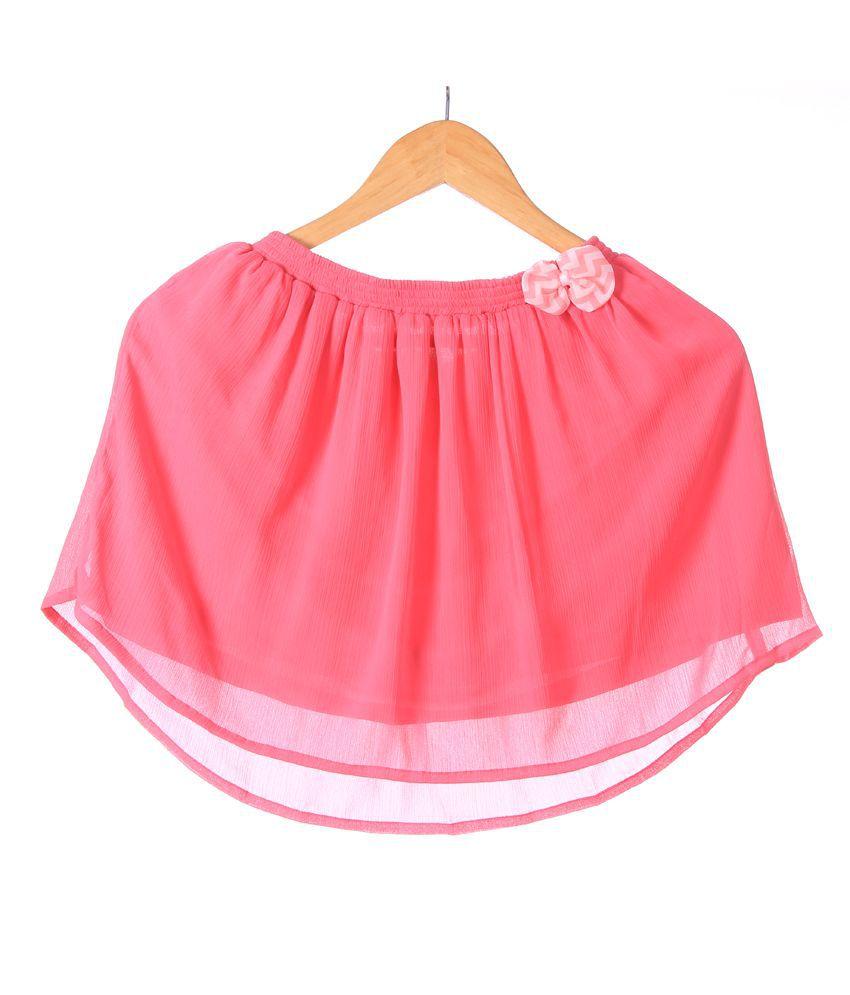 Karyn Crinkled Chiffon Skirt