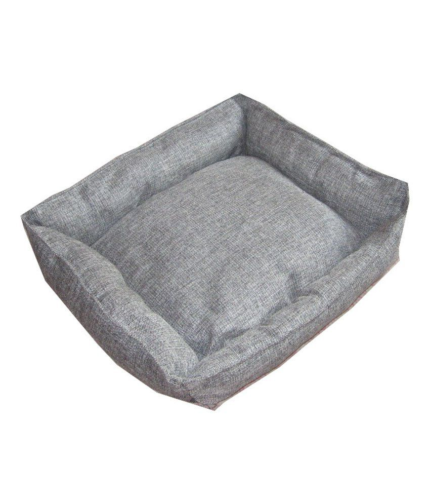 Jerrys Hq Ultra Soft Grey Velvet Bed For Dog And Cat - Extra Large By Snapdeal @ Rs.1,941