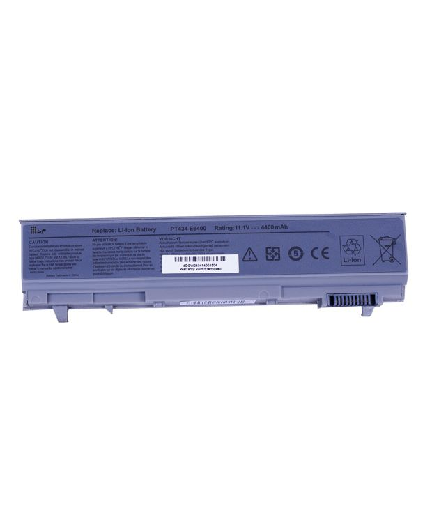 4d Dell Latitude W0x4f 6 Cell Laptop Battery