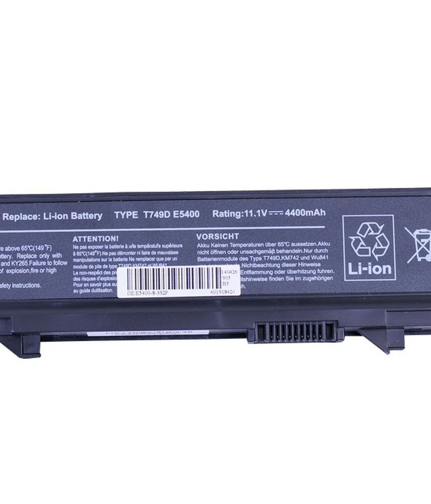 4d Dell Latitude Pp32lb 6 Cell Laptop Battery