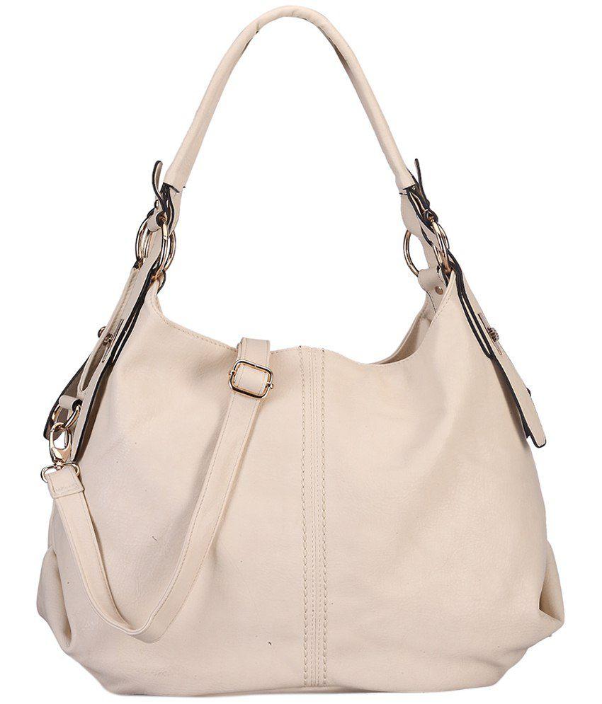 Bag Craze Beige Shoulder Bag