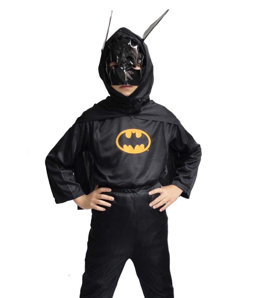Batman Costume Fancy Dress Up Outfit Suit Mask For Children ...  sc 1 st  Snapdeal & Batman Costume Fancy Dress Up Outfit Suit Mask For Children - Buy ...