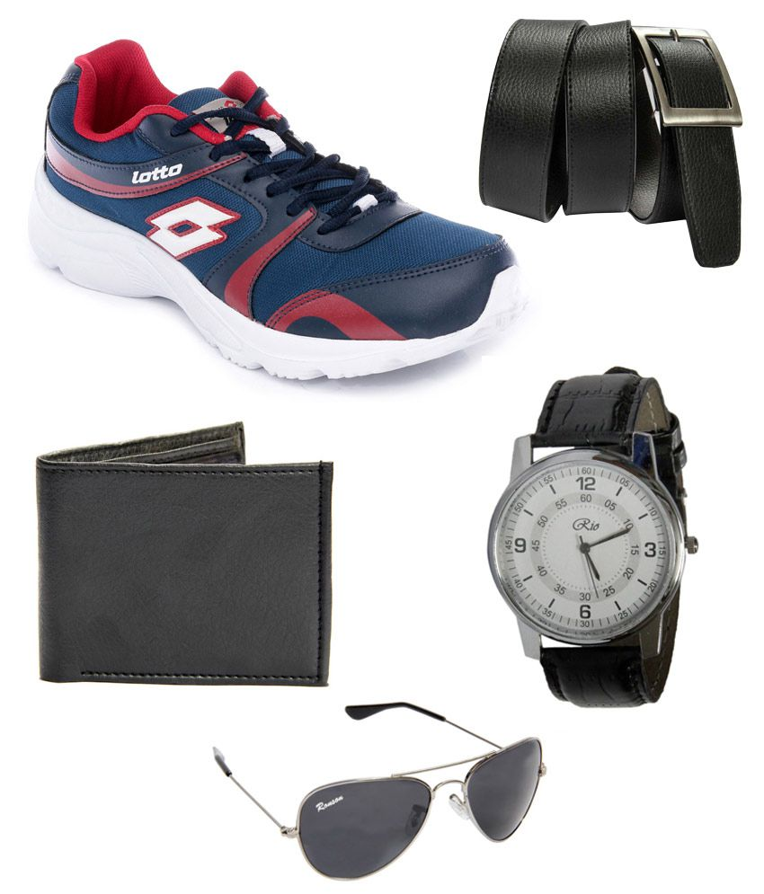 LOTTO SHOES, WATCH, SUNGLASS, WALLET