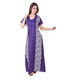8ac2b953a8 Rayon Kaftan Nighty   Free Size   Women Cotton Nighty  NA  Rs  Mrp ...