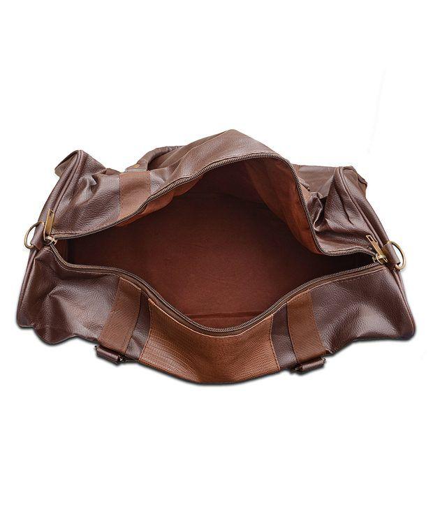 1377623e184 Arrow Brown Leather Travel Bag - Buy Arrow Brown Leather Travel Bag ...