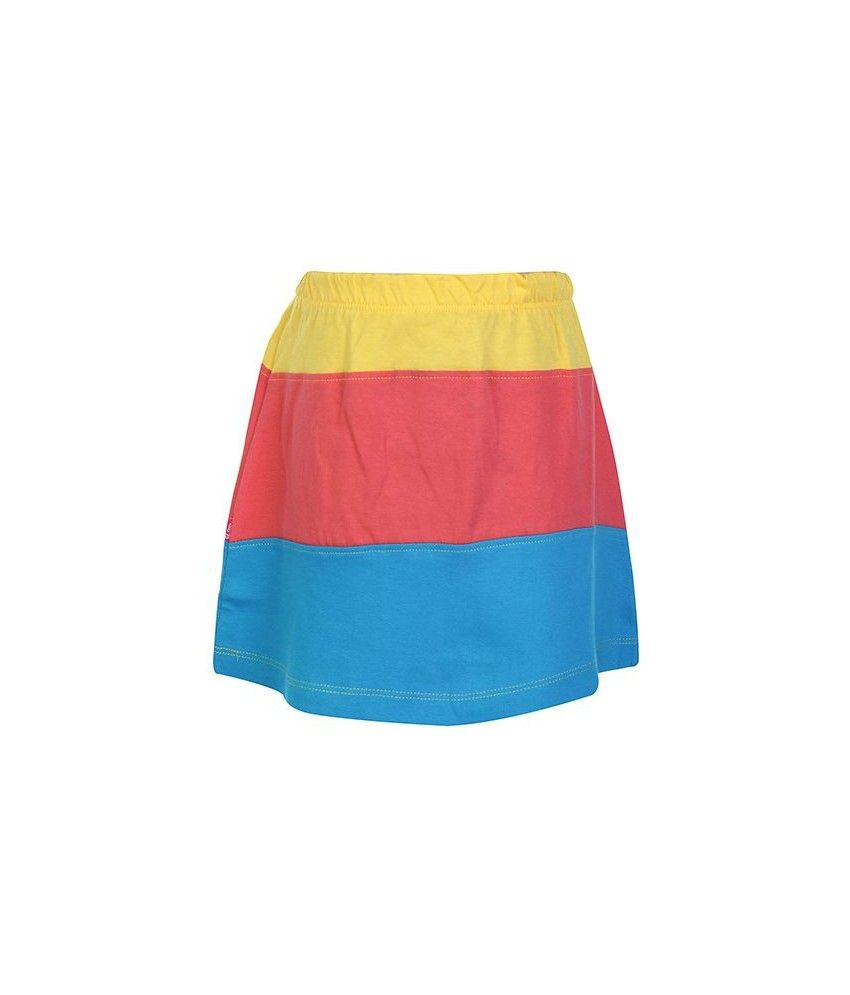 Dreamszone Yellow & Red Color Skirts For Kids