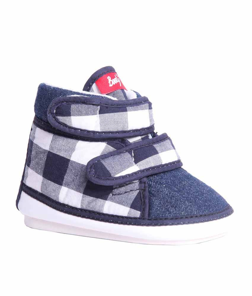 Indman Booty Navy Casual Shoes