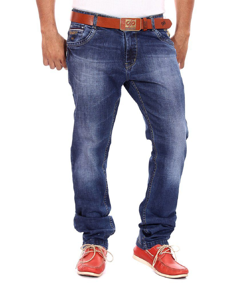 autumn shoes amazing price cute Sparky Jeans Slim Fit - Buy Sparky Jeans Slim Fit Online at Best ...