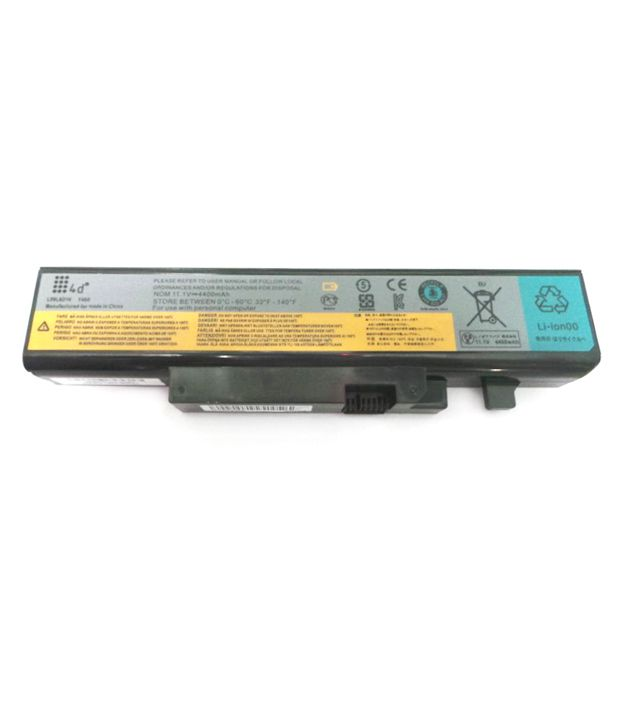4d Lenovo Ideapad Y570d 6 Cell 4400 Mah Laptop Battery