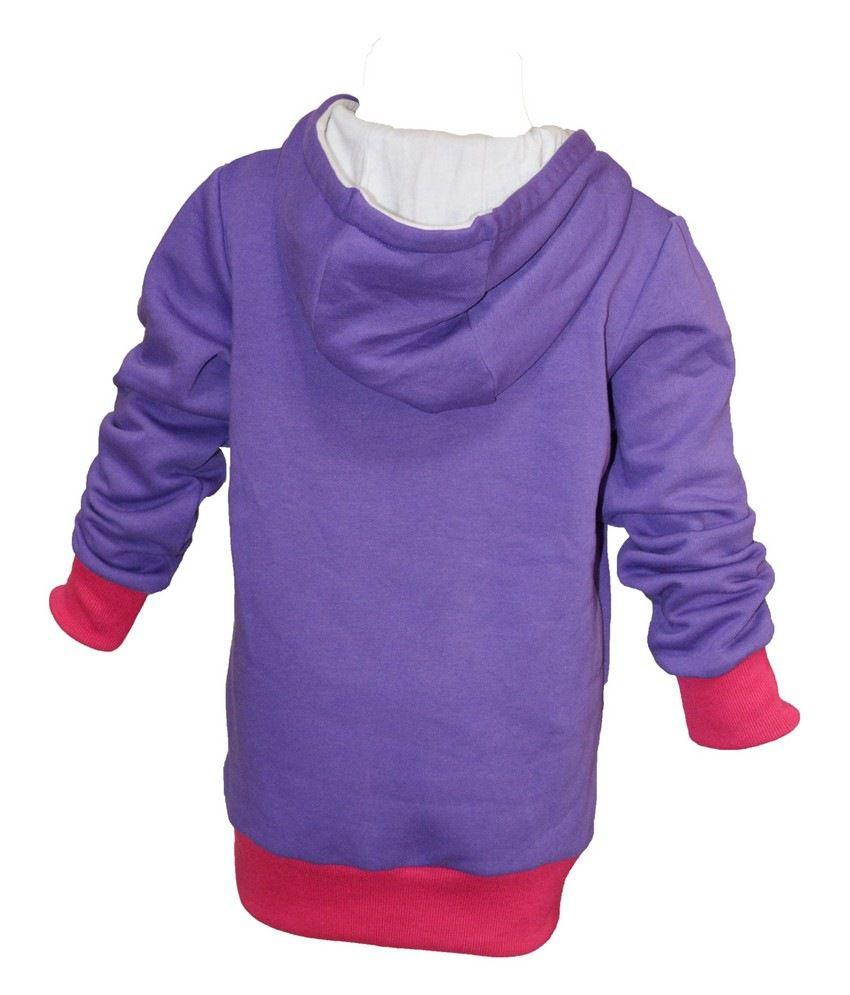Cool Quotient Purple Sweat Shirt