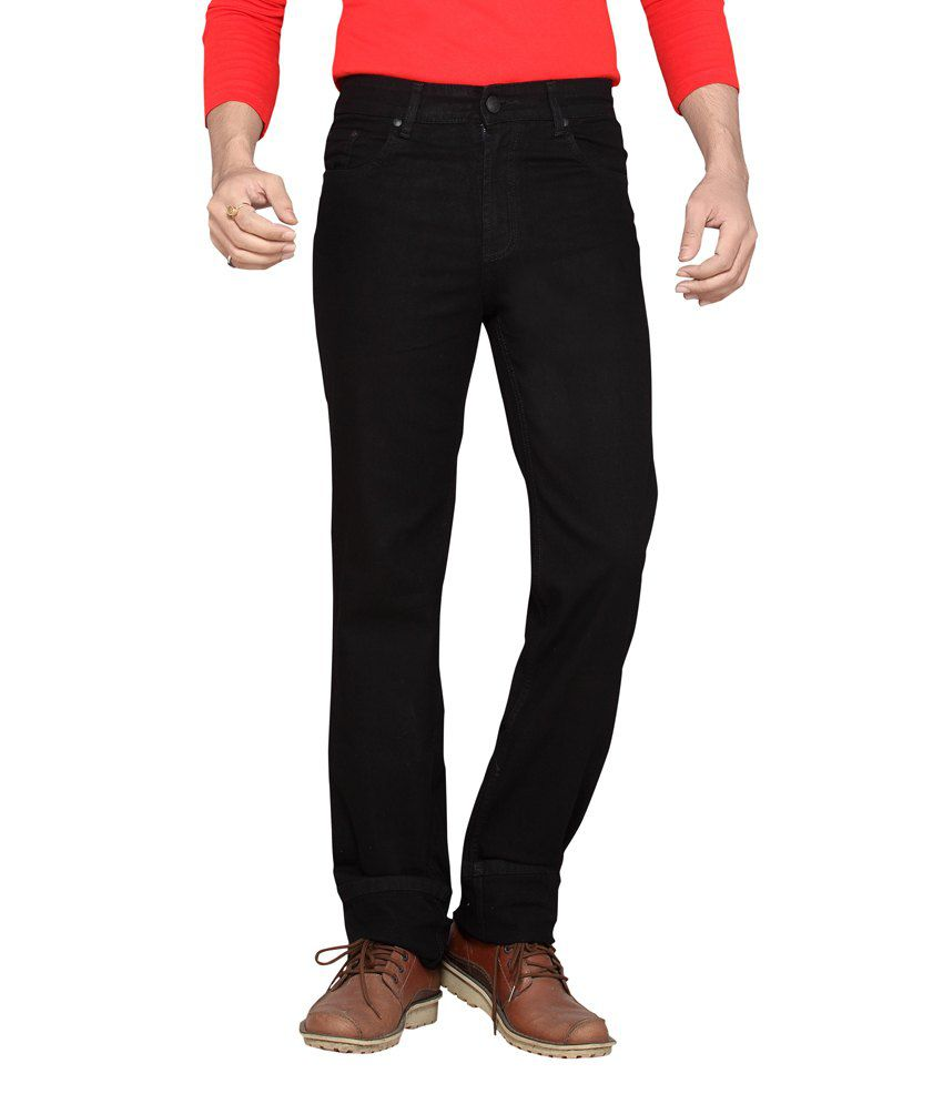 Dragaon Jet Black Relax Fit Jeans