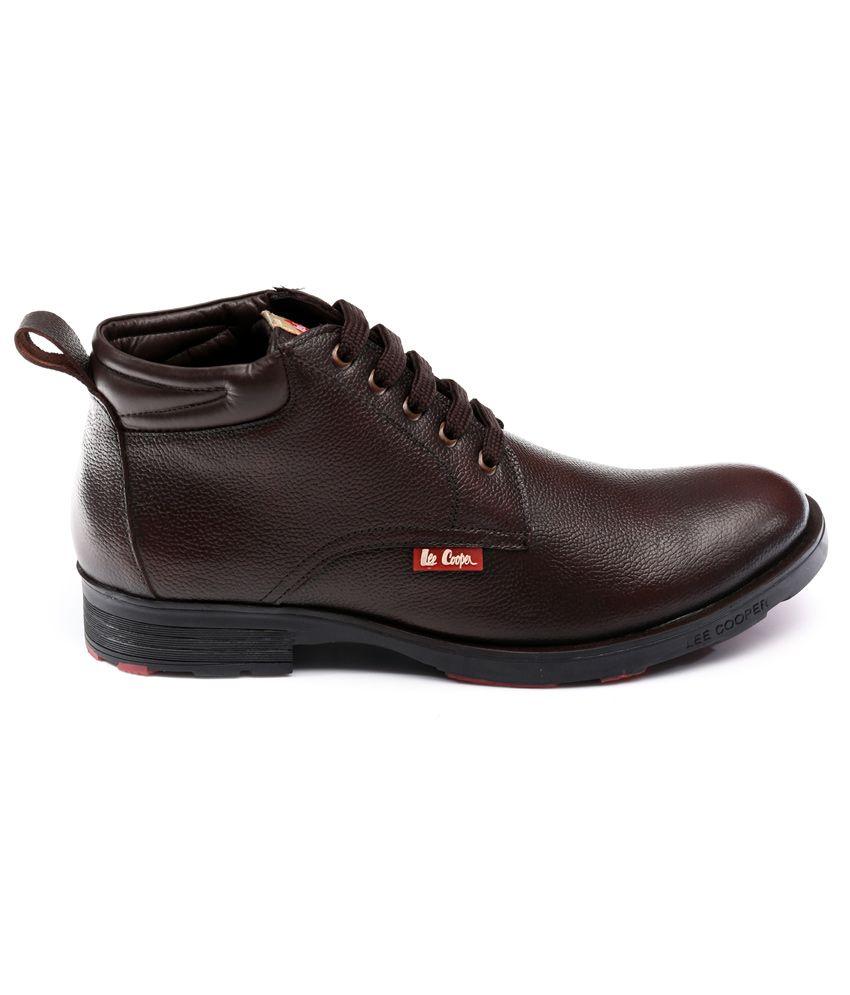 Lee Cooper Brown Cowboy boot - Buy Lee
