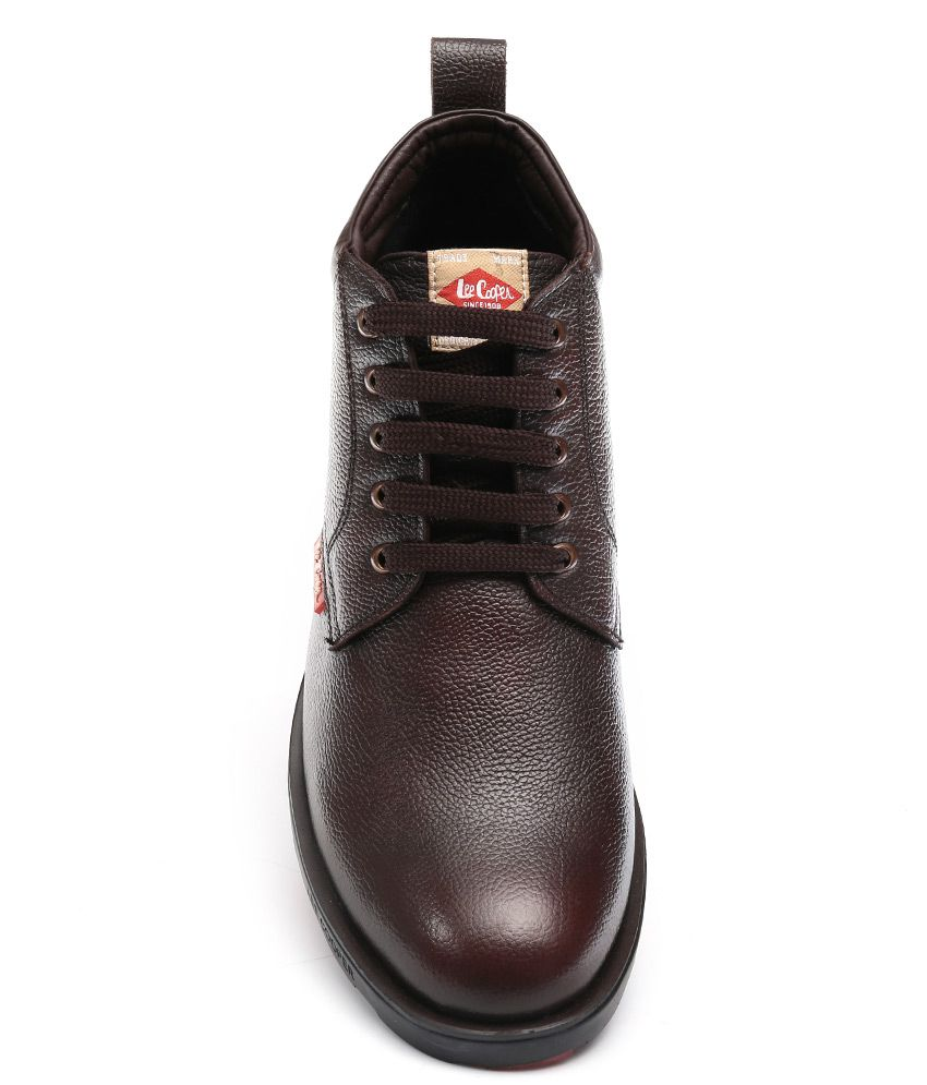 23bd8c947f ... Lee Cooper Brown Formal Boot ...