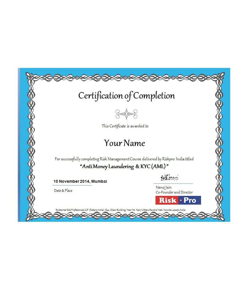 Anti Money Laundering Aml Web Based E Learning Course By Riskpro