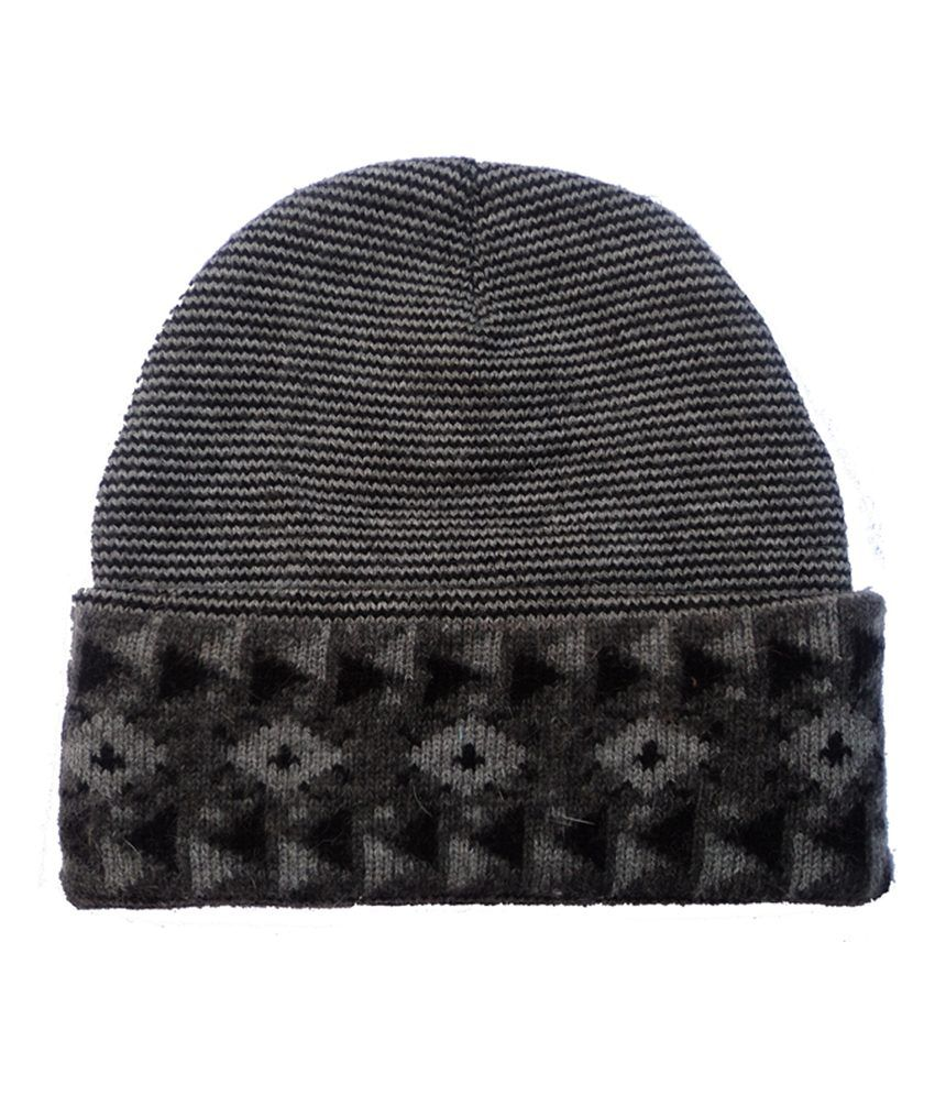 Ghf Gray Winter Woollen Cap