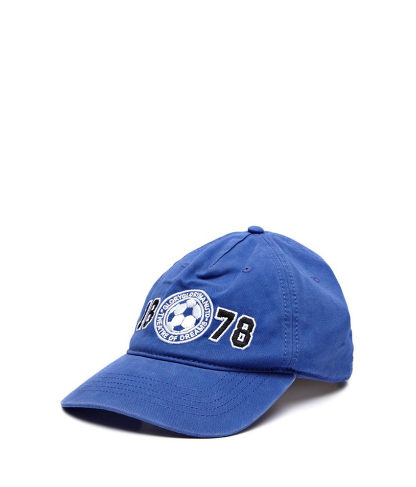Manchester United Medium Blue Stay Cool Cap - Buy Online   Rs ... 2f38b25282f