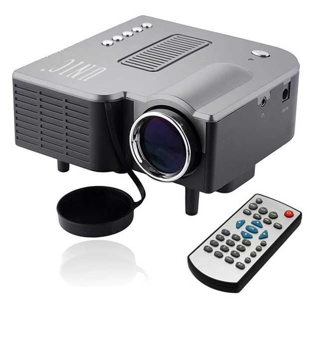 Popular E03 Tv Projector Mini Led Projector Home Theater: Buy UNIC Mini LED Cinema Projector With VGA USB SD Card