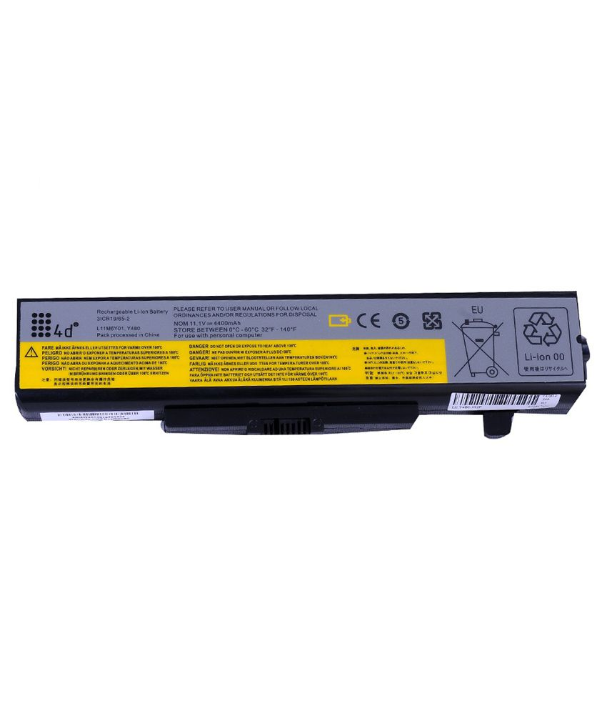 4d Lenovo Ideapad B485 6 Cell Laptop Battery