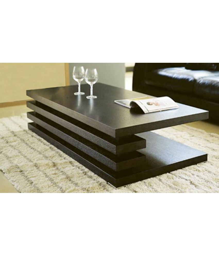 Furnish living brown centre table buy furnish living for Best centre table designs