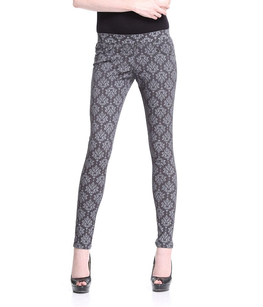 Printed jeggings on snapdeal