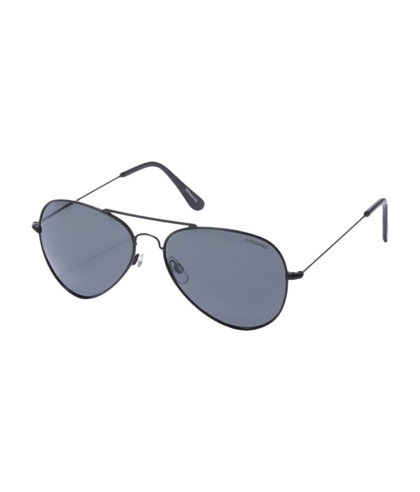 4b2654c45d40 Polaroid Hans Mens Aviator Sunglasses