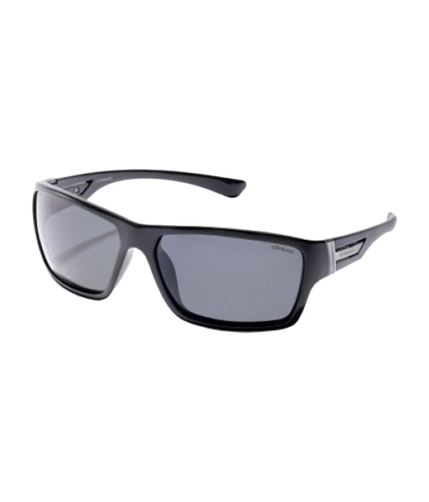 Polaroid P-8356-A Medium Men Rectangle Sunglasses